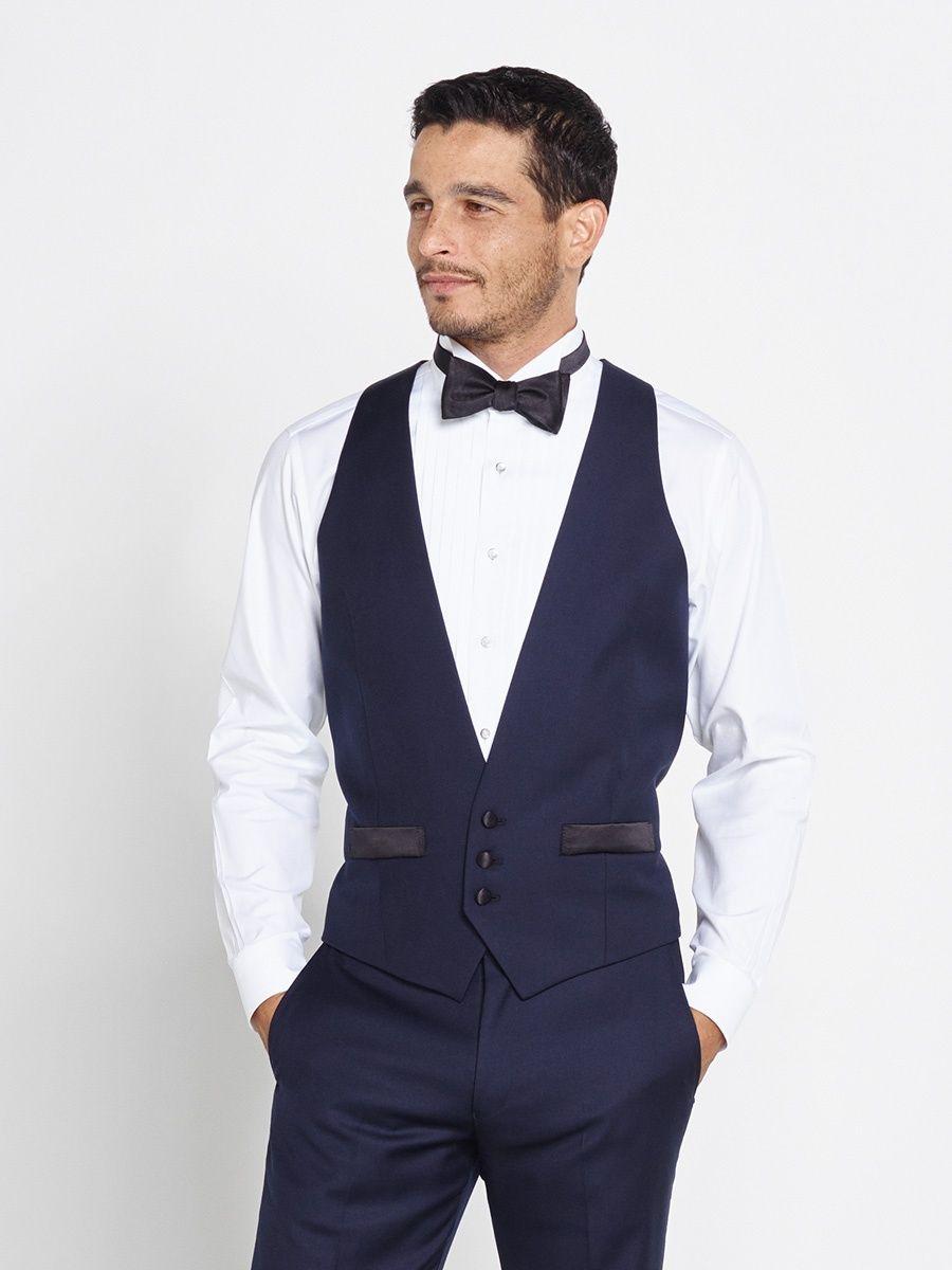Men's V-neck Tuxedo suit