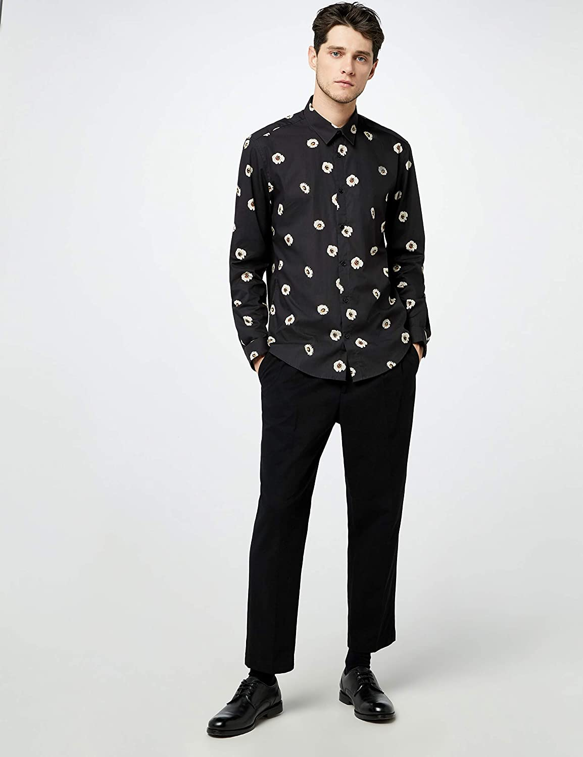 find. Men's Floral Print Shirt