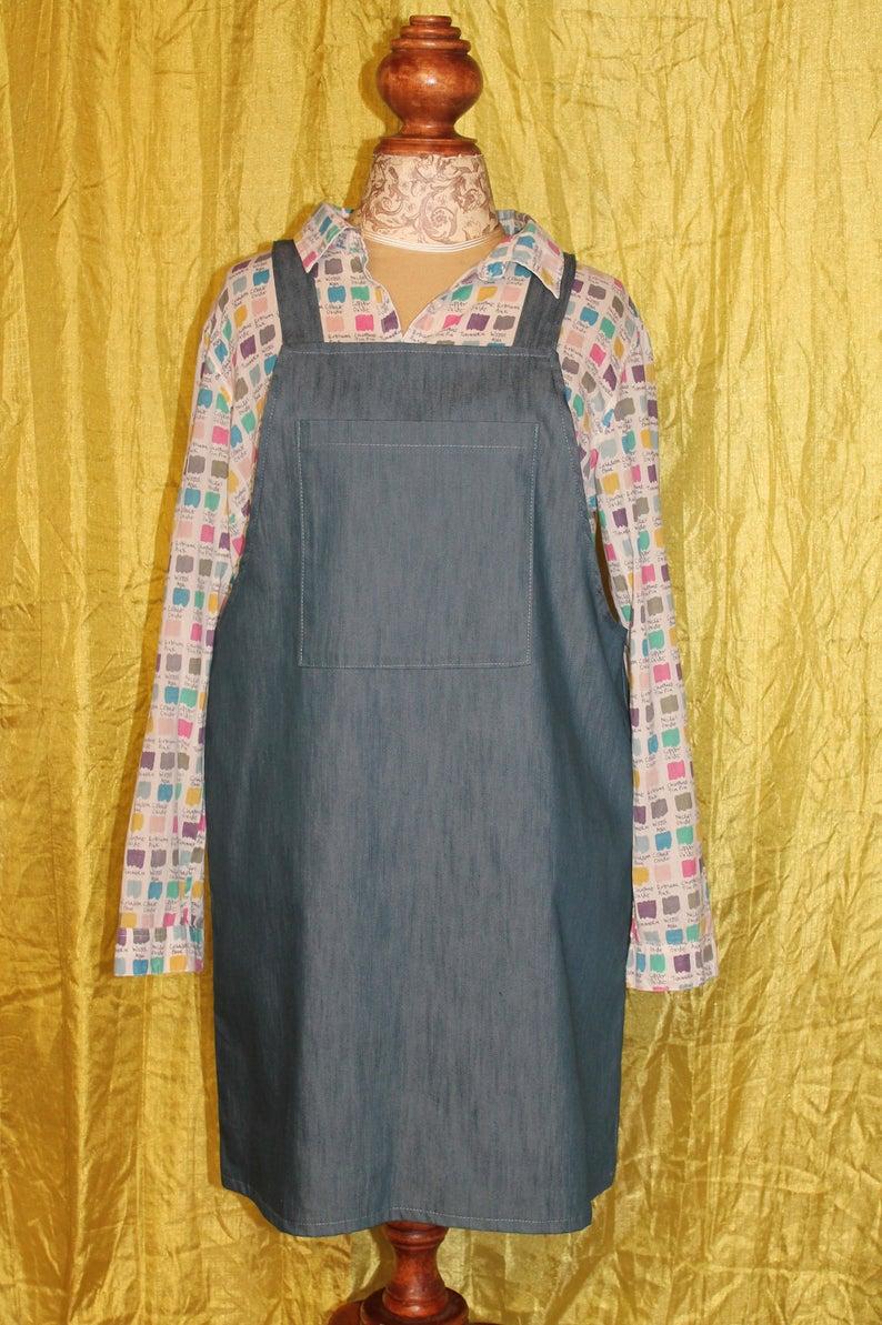 Dungaree overall dress