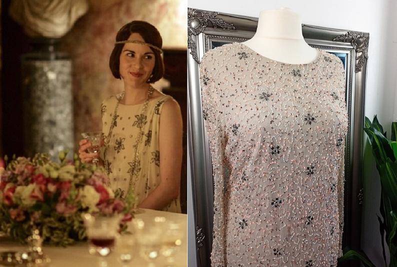 Sequin Dress Flapper Dress Sequinned Dress Embellished Dress