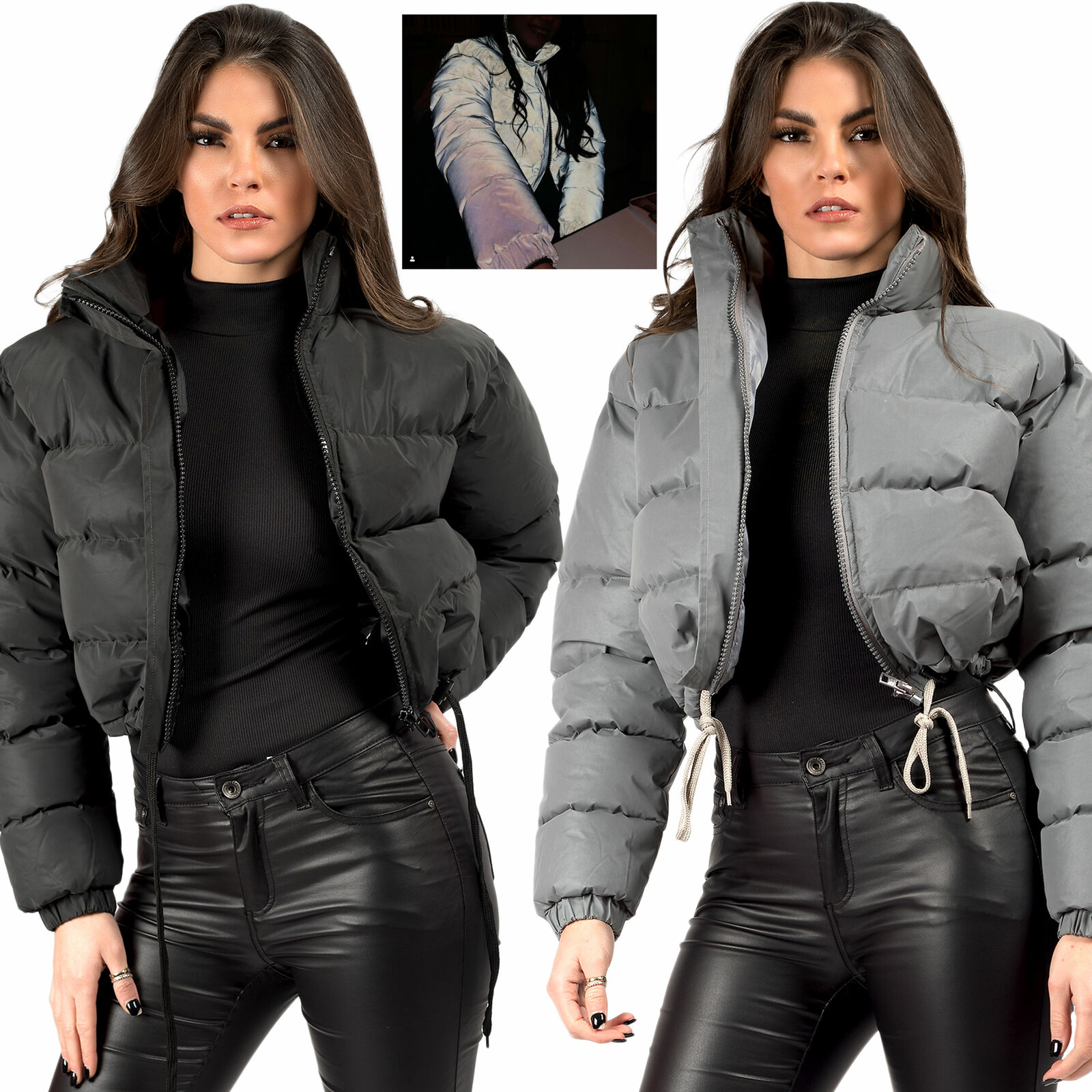 Puffer Cropped Jacket