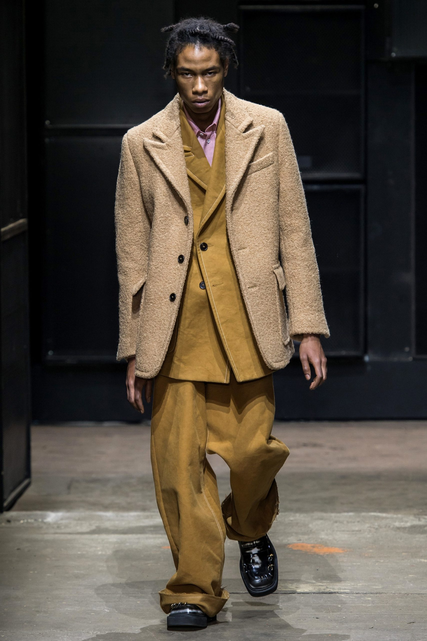 men's baggy pants suits