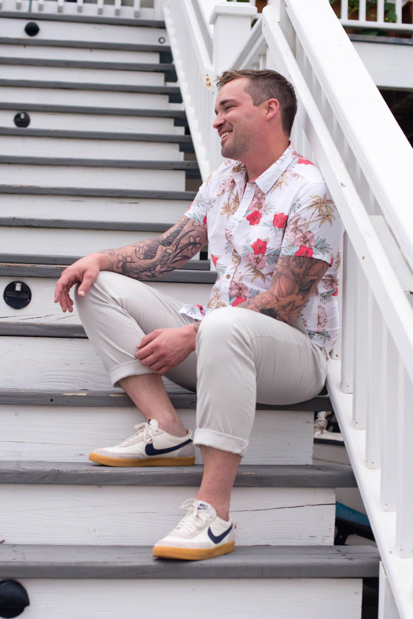 men's cropped pants