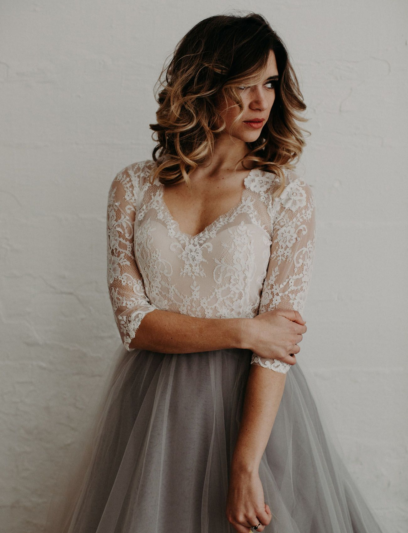 tulle skirt with Lace Top