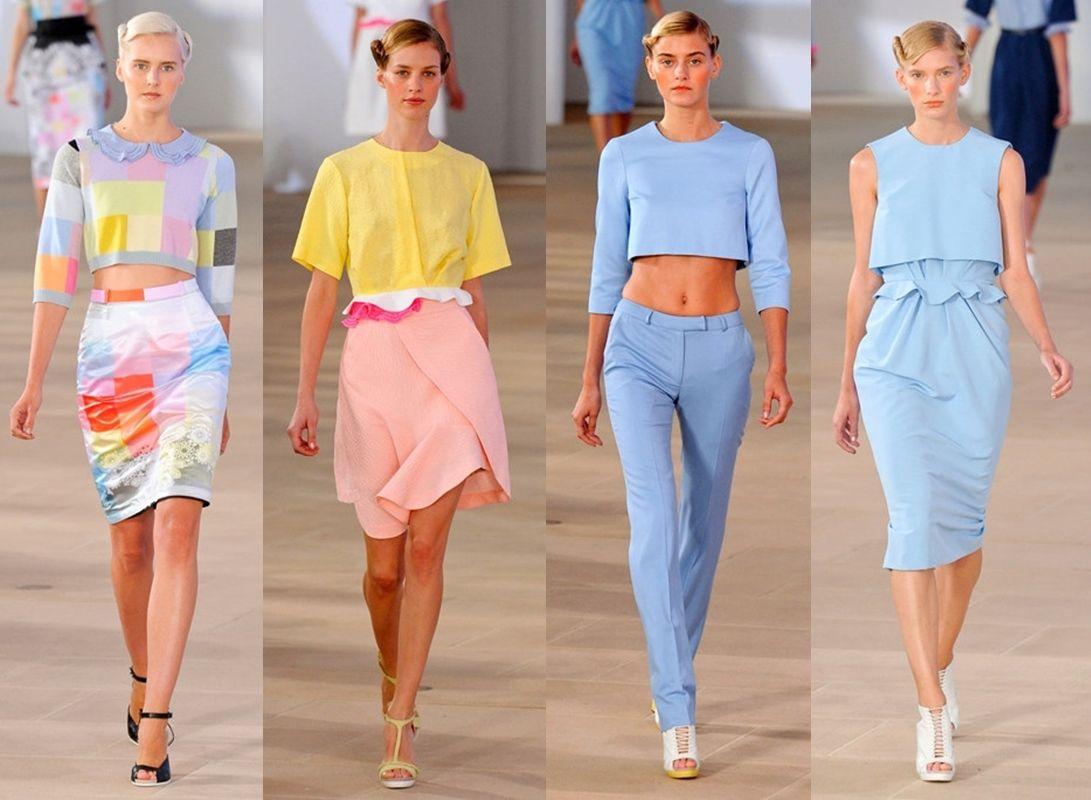 Pastel Color fashion trend