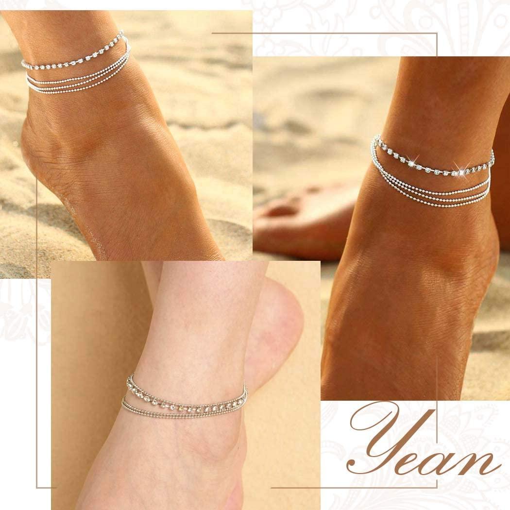 Ankle Bracelets crystal