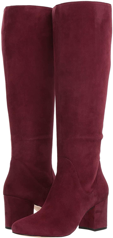 ALDO Women's LILINIA Knee High Boot, Bordo, 5 B US