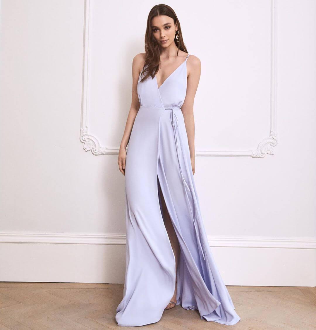 Pastel Color maxi dresses