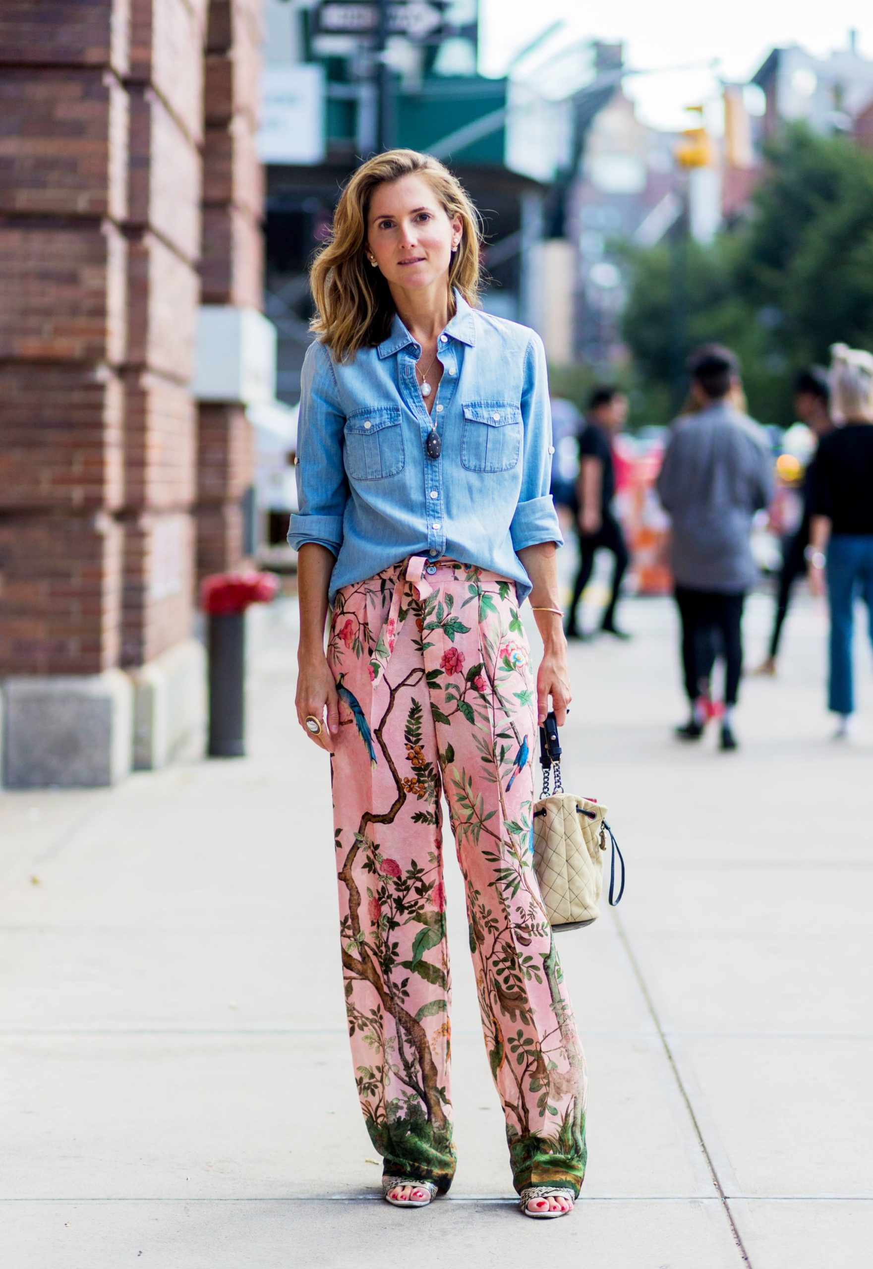 Printed Pants for Women