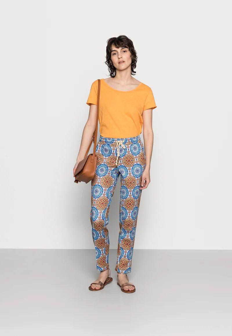 PANTS PRINTED SCUBA - Trousers