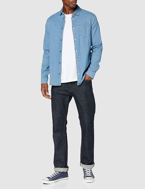Tommy Jeans Men's TJM Stretch Denim Shirt
