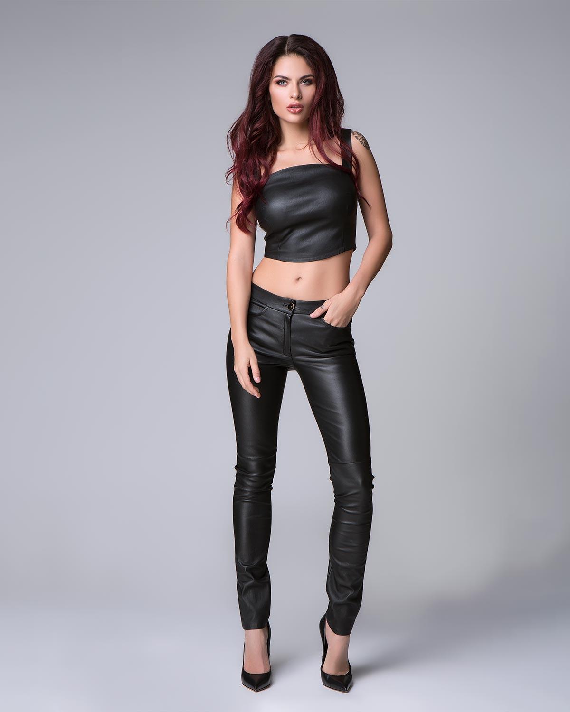 Women Leather Pants