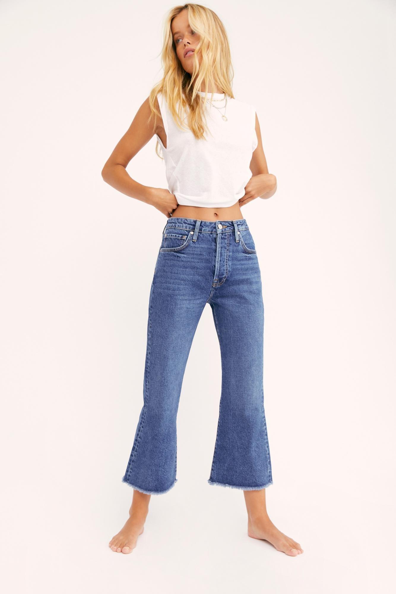 Women Kick Flare Jeans