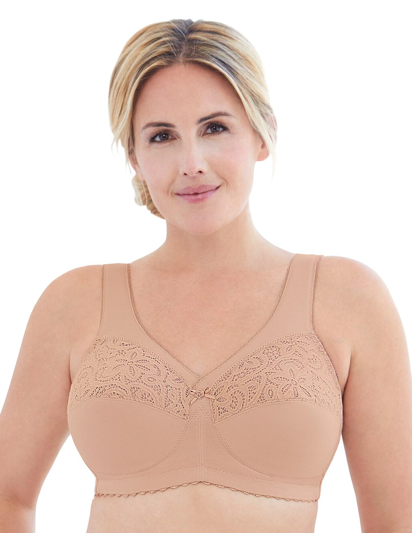 Glamorise Plus Size MagicLift Cotton Support Bra 1001
