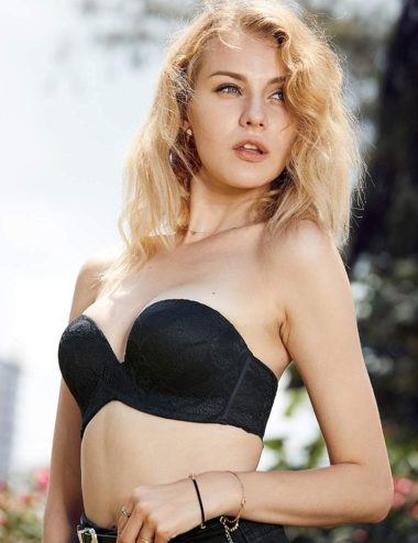 Find the Perfect Strapless Padded Push Up Bra